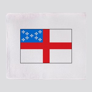 Episcopal Flag Throw Blanket
